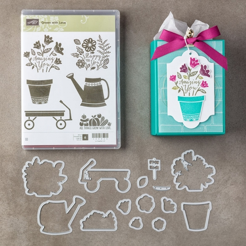 Grown with Love Bundle - Mary Fish stamping