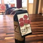 Beautiful Bouquet Wine Bottle Tag