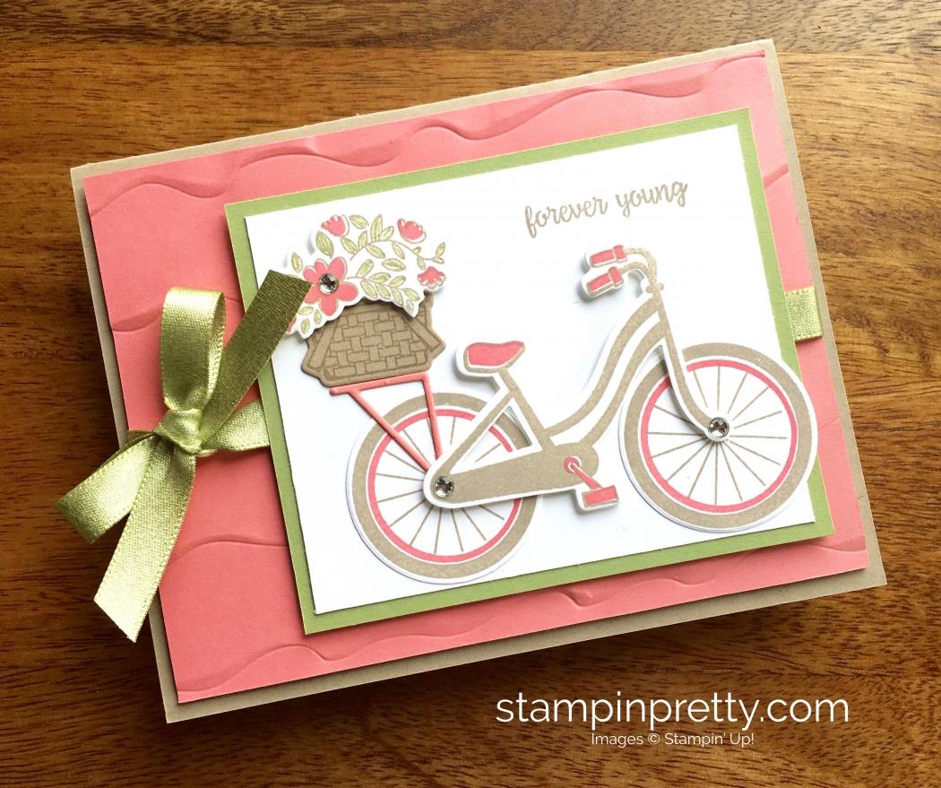 Beautiful Bike Ride Birthday Card Idea Stampin Pretty