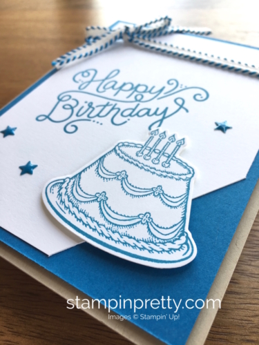 Stampin Up Birthday Delivery Birthday Card Ideas - Mary Fish StampinUp