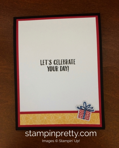 Stampin Up Birthday Delivery Birthday Card Ideas - Mary Fish stampinu