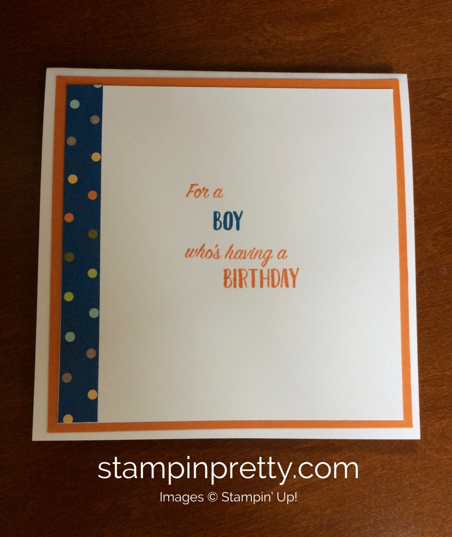 Stampin Up Birthday Delivery Birthday Card Ideas Mary Fish – Stampin Up Birthday Card Ideas