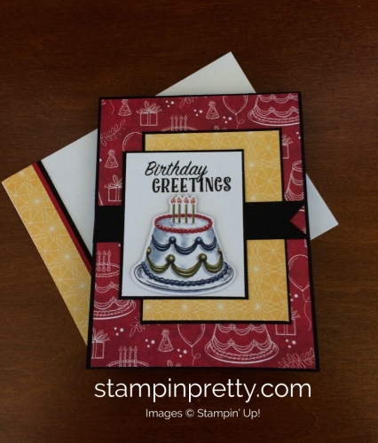 Stampin Up Birthday Delivery Birthday Card - Mary Fish stampinup