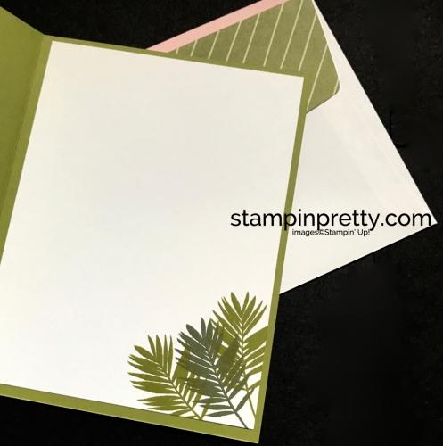 Stampin Up Fabulous Flamingo Delightful Daisy DSP Congratulations card idea Mary Fish Stampinup SU