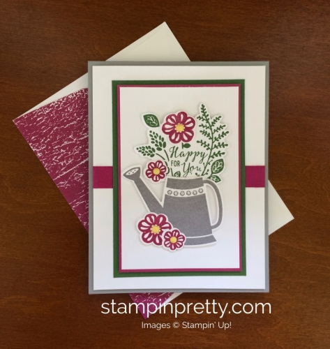 Stampin Up Grown With Love Love and Friendship Card - Mary Fish stampinup