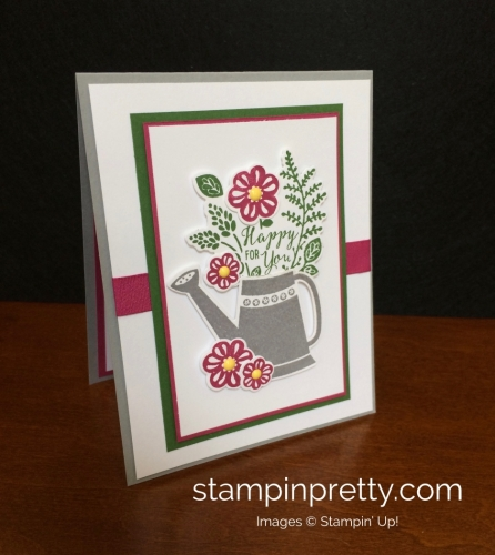 Stampin Up Grown with Love Love and Friendship Card Idea - Mary Fish stampinup