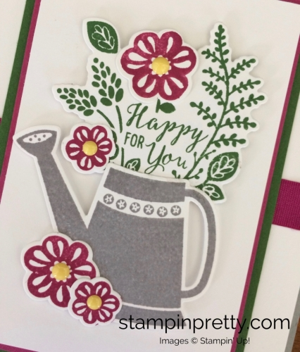 Stampin Up Grown with Love Love and Friendship Cards Idea - Mary Fish stampinup