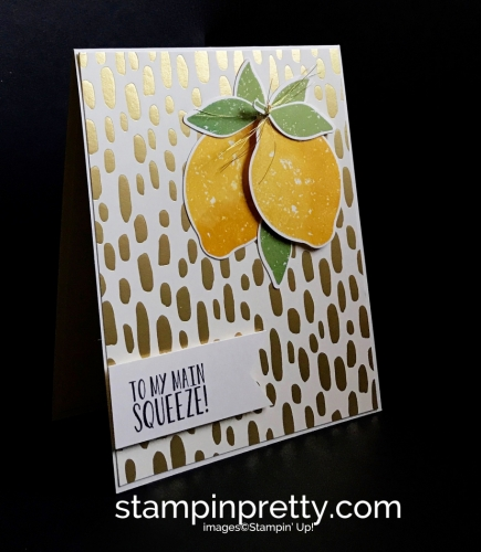 Stampin Up Lemon Zest Bundle Bundle of Love DSP Love card Mary Fish Stampinup SU