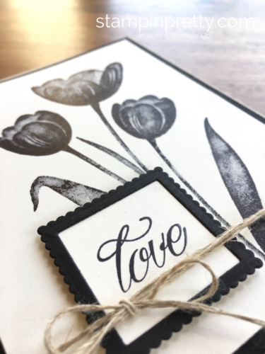 Stampin Up Tranquil Tulips Love Wedding Cards Idea - Mary Fish StampinUp