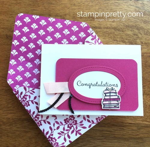 Stampin Up Bike Ride Congratulations Card Idea - Mary Fish StampinUp