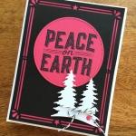 Carols of Christmas Card with a Melon Mambo Twist