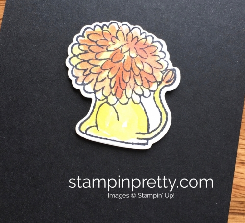 Stampin Up Little Loves A Little Wild Lion Card Idea - Mary Fish StampinUp
