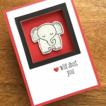 A Little Wild Elephant Thank You Card & Stamp-n-Storage Private Sale!