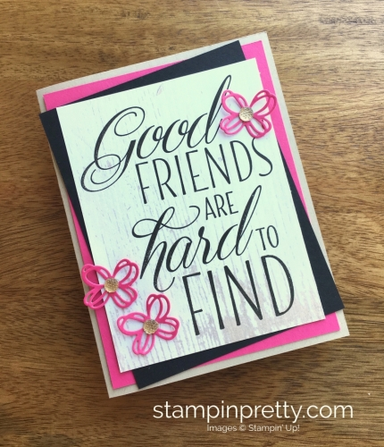 Stampin Up Lovely Friends Butterfly Card Ideas - Mary Fish StampinUp