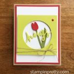 """Lovely Words """"Hugs"""" Card Idea"""