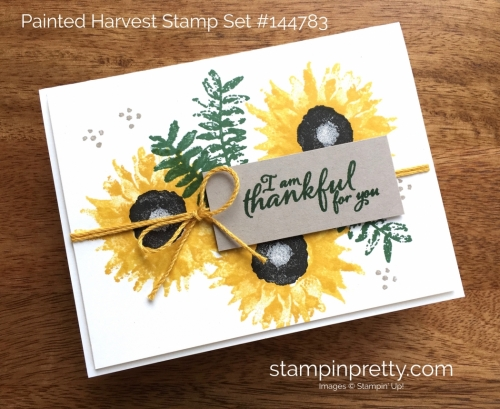 Stampin Up Painted Harvest Fall & Autumn Card Idea - Mary Fish Stampin' Up!