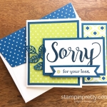 Sorry for Everything Sympathy Card
