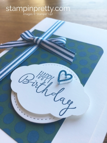 Stampin Up Special Celebrations Birthday Cards Idea - Mary Fish StampinUp