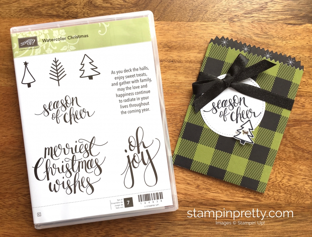 Holiday sneak peeks with the mini treat bag stampin pretty