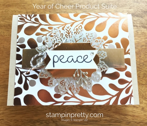Stampin Up Year of Cheer Holiday Card Ideas - Mary Fish StampinUp