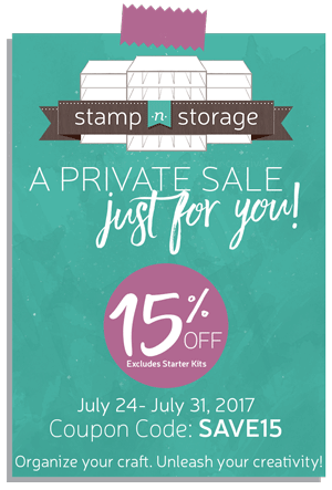 St&-n-Storage 15% Off!  sc 1 st  St&inu0027 Pretty & JUST 3 MORE DAYS! Stamp-n-Storage 15% Off!   Stampinu0027 Pretty