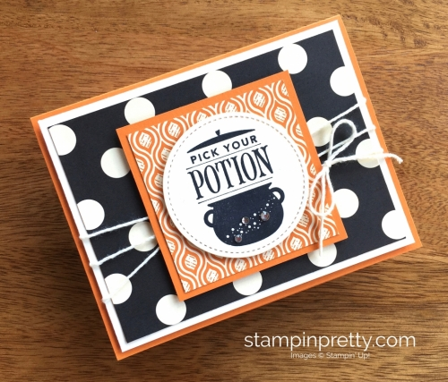 Stampin Up Festive Phrases Halloween Card Ideas - Mary Fish StampinUp