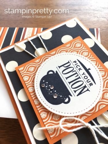 Stampin Up Festive Phrases Halloween Cards Ideas - Mary Fish StampinUp