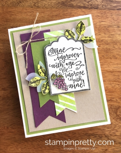 Stampin Up Half Full Autumn Cards Ideas - Mary Fish StampinUp