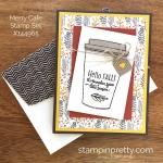 A Sneak Peek of Merry Cafe Stamp Set