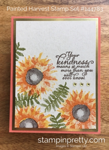 Stampin Up Painted Harvest Autumn Fall Card Idea - Mary Fish StampinUp