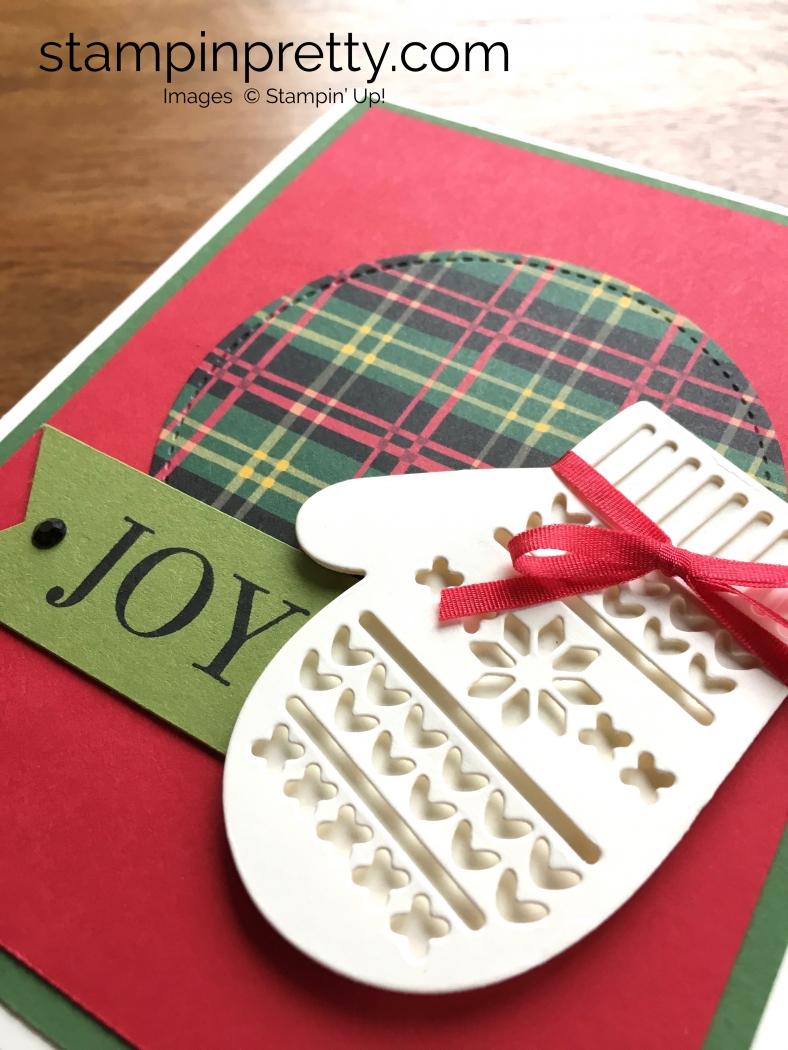 Many Mittens Framelits Dies Christmas Card