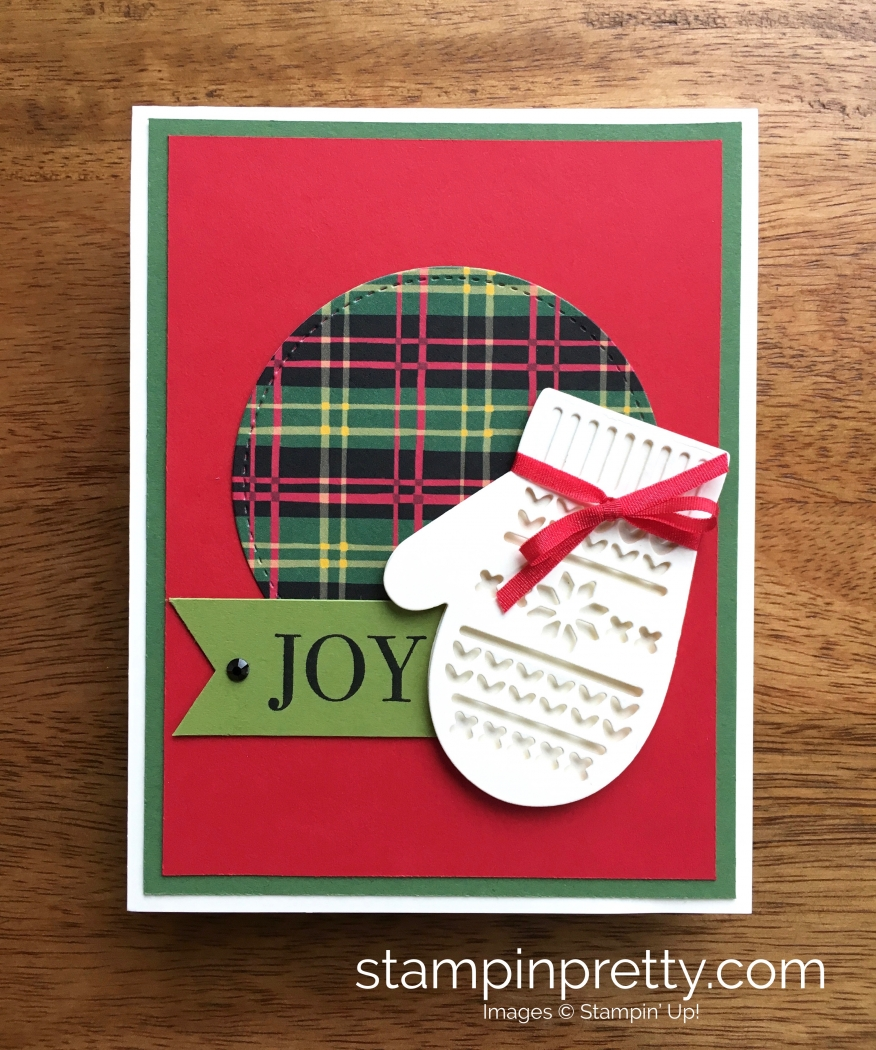 many mittens framelits dies christmas card stampin pretty
