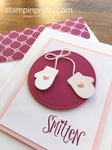 Stampin Up Smitten Mittens Baby Card Ideas - Mary Fish StampinUp