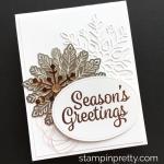 A Snowflake Medley Holiday Card Idea