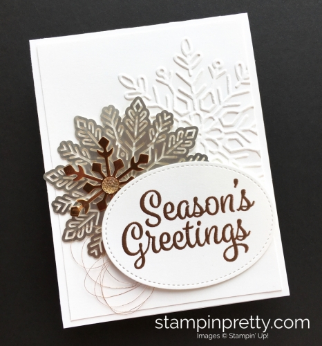 How to create simple snowflake holiday cards