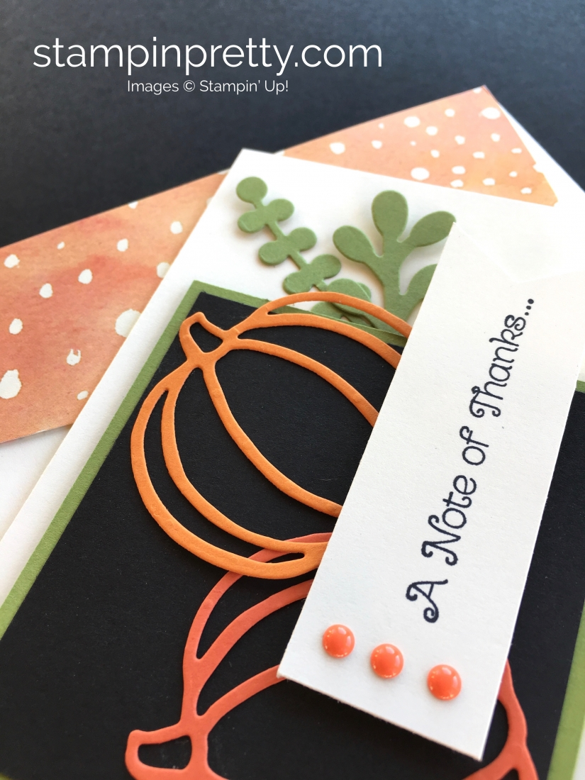 Patterned Pumpkins Autumn Card Stampin Pretty