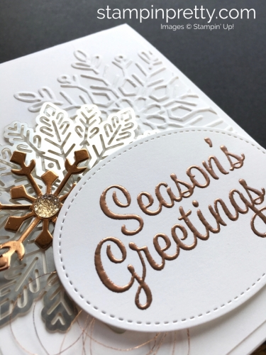 Learn how to create simple snowflake holiday cards