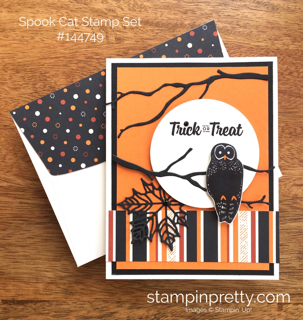 stampin up spooky cat halloween cards idea mary fish stampinup - Stampin Up Halloween Ideas