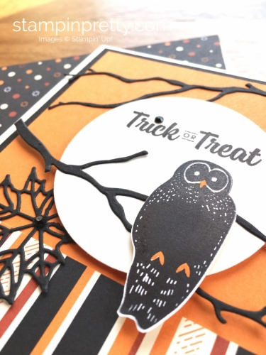 Stampin Up Spooky Cat Halloween Cards Ideas - Mary Fish StampinUp
