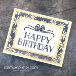 4 Simple Happy Birthday Cards