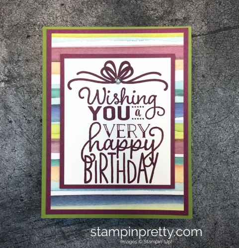 More Birthday Cards Archives Page 18 Of 253 Stampin Pretty