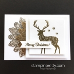 Simple Merry Patterns Note Card