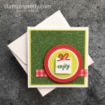 3 x 3 Mini Holiday Cards Part 1