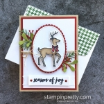 A Stampin' Blends Day with Santa's Sleigh