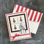 Watercolor Christmas with Old Olive Stampin' Blends