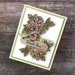 Sneak Peek:  Petal Palette Thank You Card