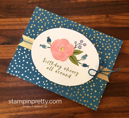 Learn how to create 16 birthday cards using the Stampin Up Perennial Birthday Project Kit - Mary Fish StampinUp Idea