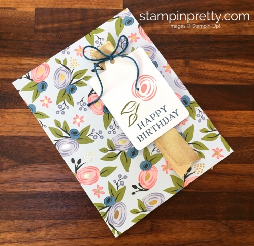 Learn how to create 16 birthday cards using the Stampin Up Perennial Birthday Project Kit - Mary Fish StampinUp Ideas