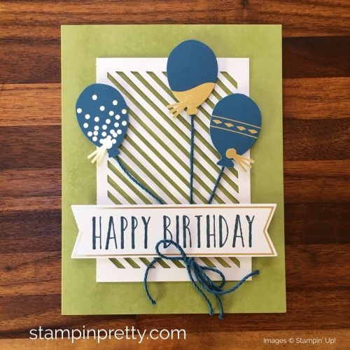 Learn how to create 16 birthday cards using the Stampin Up Perennial Birthday Project Kits - Mary Fish StampinUp