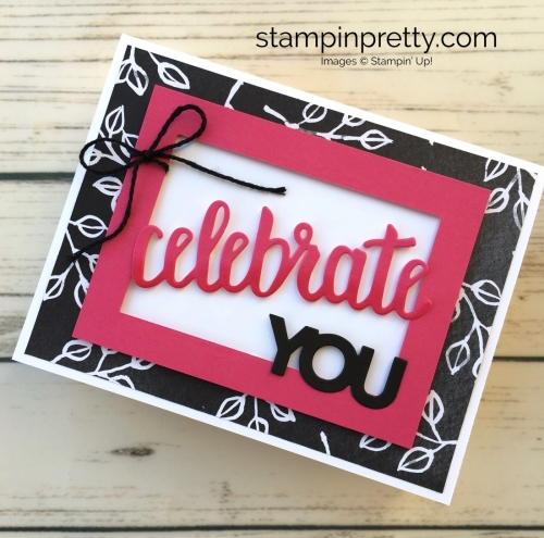 Simple Saturday Birthday Card Idea Stampin Pretty